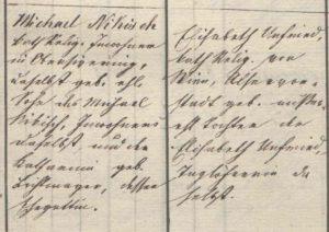 Schriftbeispiel Deutsche Schreibschrift 1860