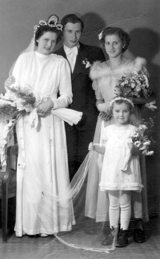 Hochzeit Adolf Tobolka & Hilda Scheit