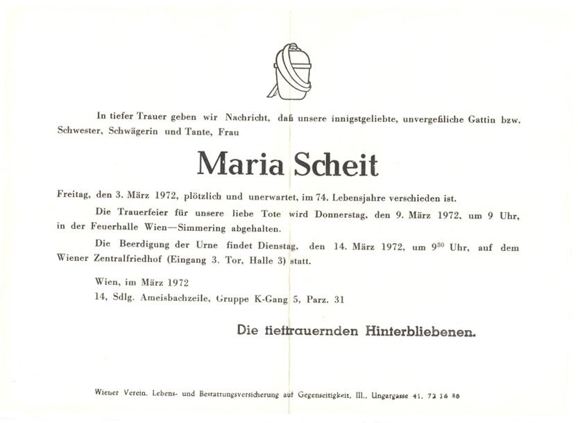 Patrezettel Maria Scheit