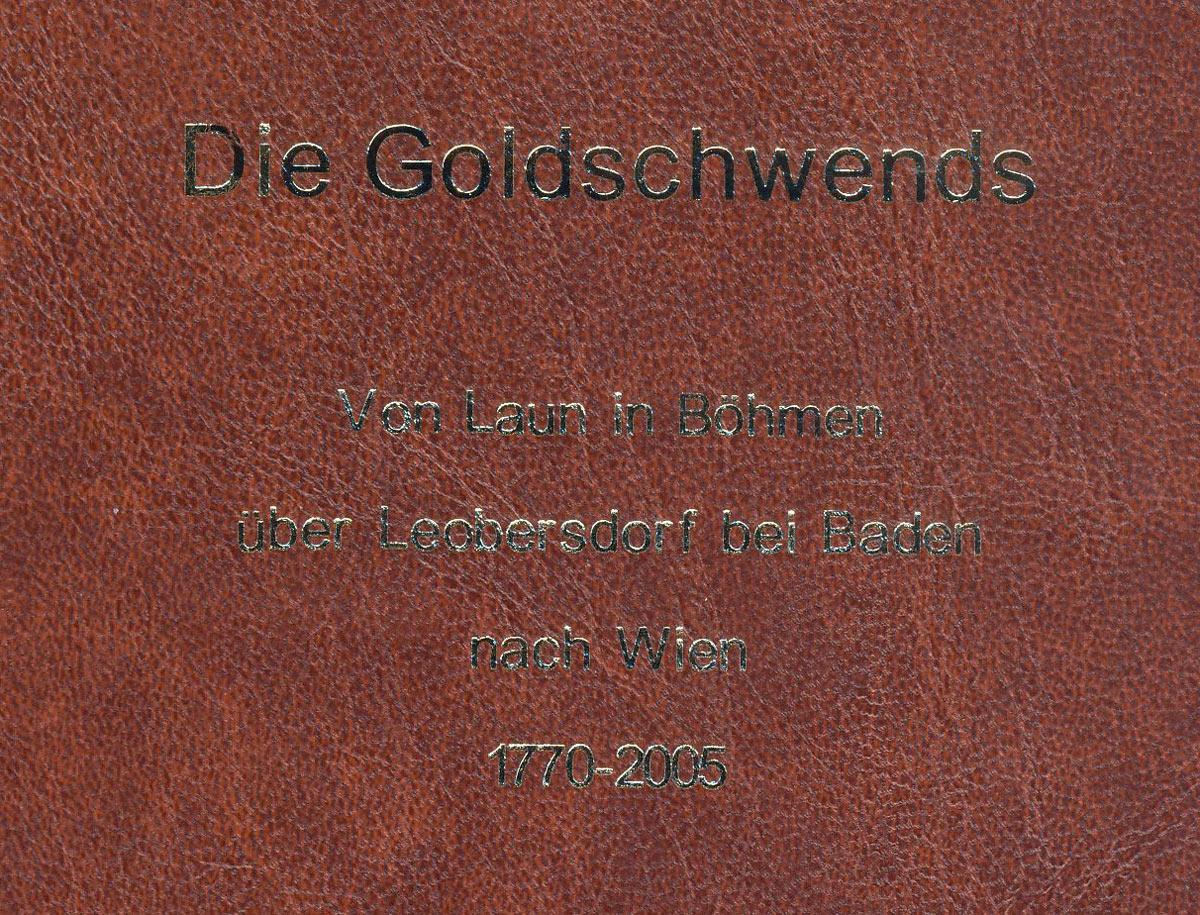 Genealogy Tobolka Goldschwend